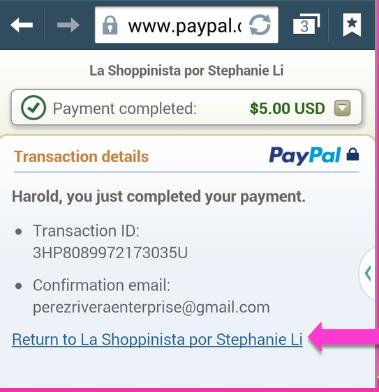 comprar con paypal