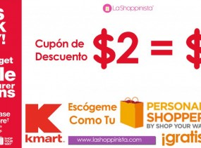 Double Coupon Kmart Puerto Rico y United States