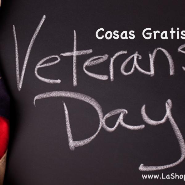 Cosas Gratis en el Dia de Veteranos