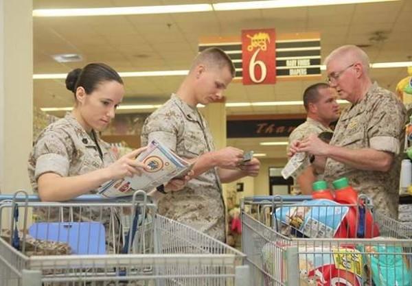 Cupones de Descuento para militares y familiares
