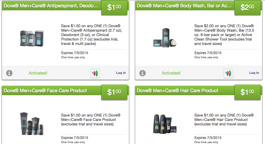 dove men coupons