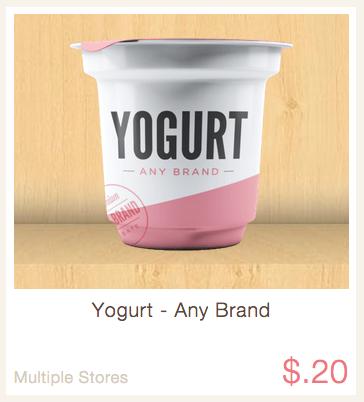ibotta rebate yogurt