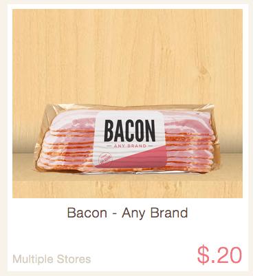 ibotta rebate bacon