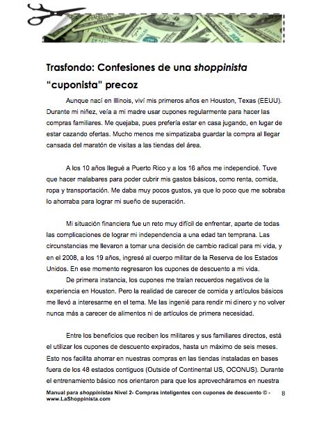 La Shoppinista - Biografía