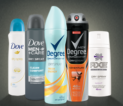 Muestra Gratis Axe, Dove o Degree