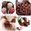Recetas- como hacer rosas con chocolate