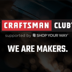 Craftsman club shop your way
