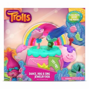 Dreamworks Trolls Dance, Hug and Sing Jewelry Box