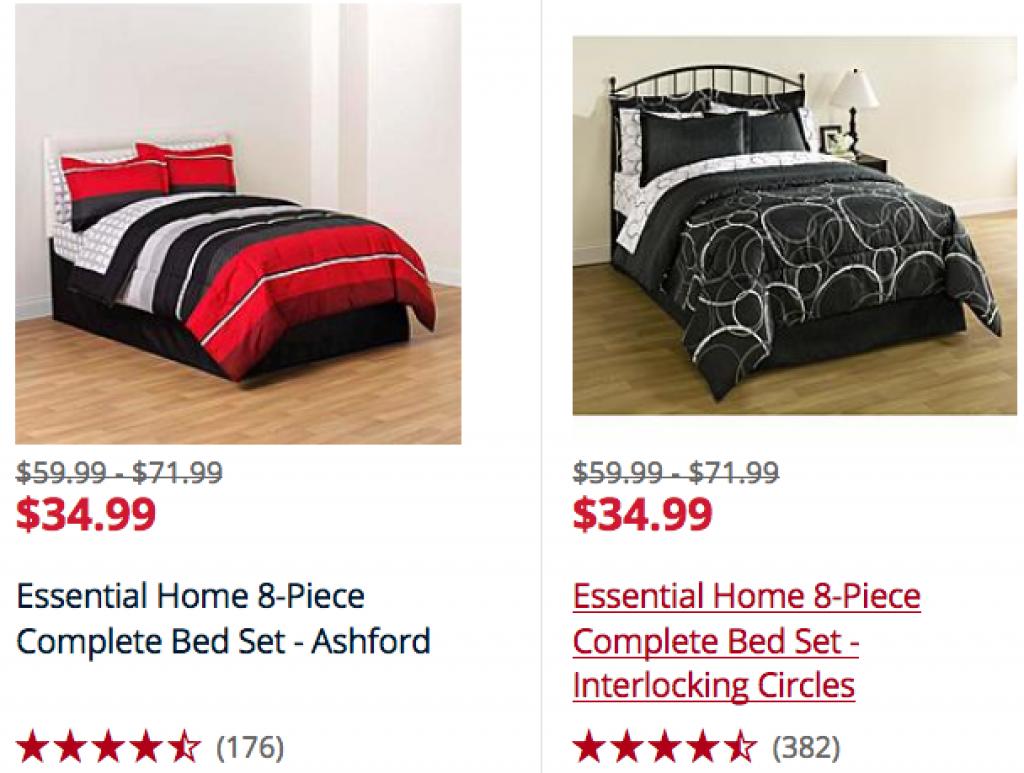 Shopper Kmart Essential Home Comforters Sets