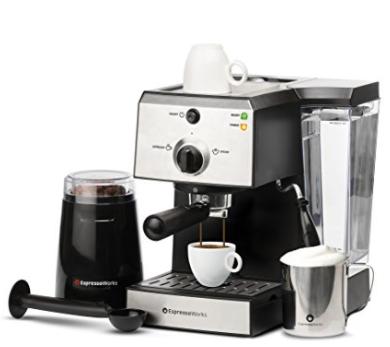 7 Pc All In One Espresso Machine Bundle Set La Shoppinista