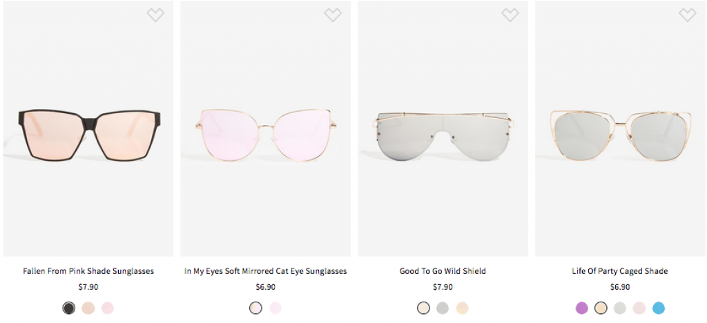 Gafas-Sunglasses $10 or Less - la shoppinistaGafas-Sunglasses $10 or Less - la shoppinista