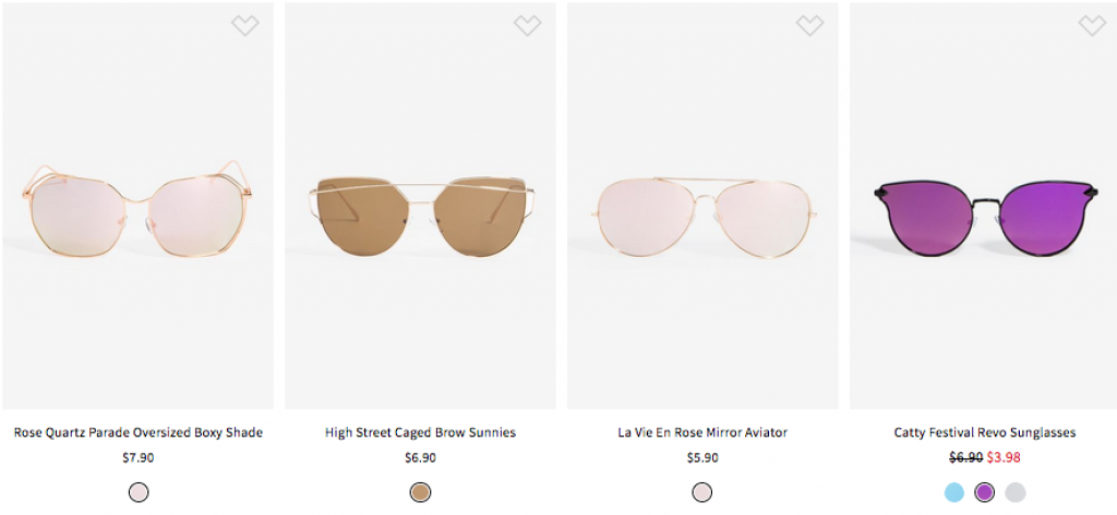 Gafas-Sunglasses $10 or Less - la shoppinista