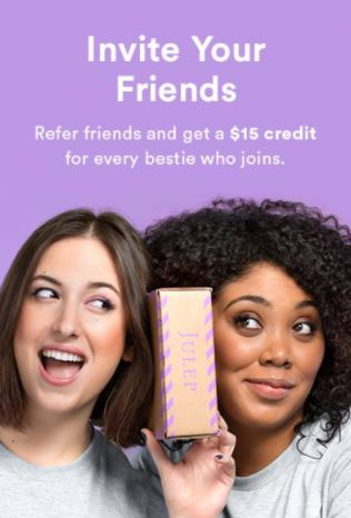 julep $15 referral la shoppinista