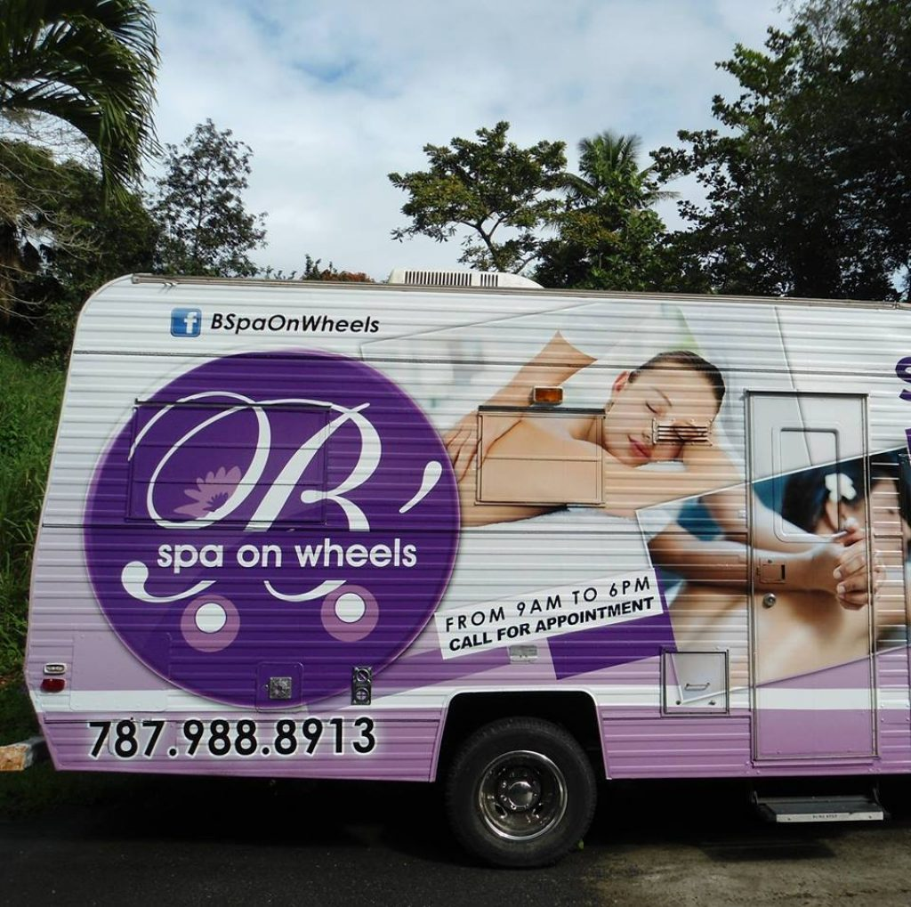 b spa on wheels puerto rico