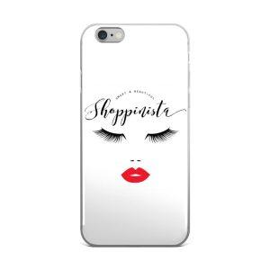 Smart & Beautiful Shoppinista – iPhone 5/5s/Se, 6/6s, 6/6s Plus Case