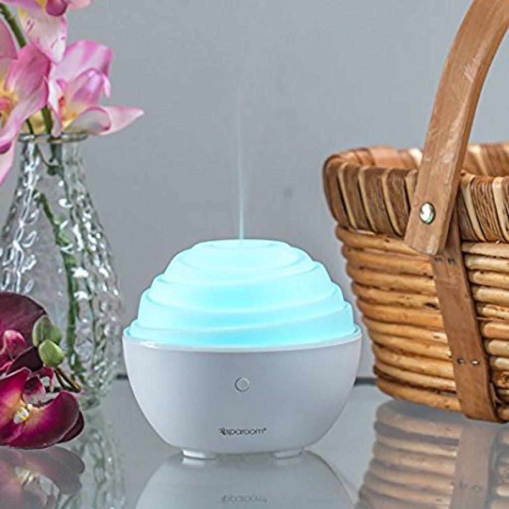 SpaRoom Cupcake Ultrasonic Essential Oil Diffuser and Fragrance Mister