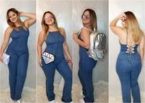 Denim Jumpsuits & Overalls