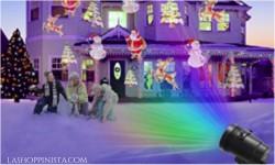 Decoraciones solares para la navidad