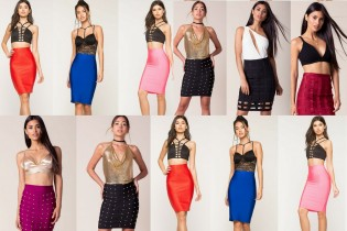Bandage Spandex Skirts for Women