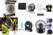 Abanicos Portátiles, Solares o de Batería