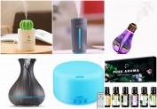 Essential Oil Diffuser (Difusores de aceites esenciales)