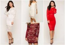 Lace Dresses (vestidos de encaje)