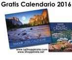 Gratis Calendario Año 2016