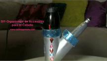 DIY – Organizador de Accesorios para el Cabello