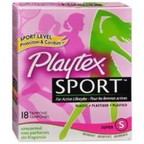 Muestra Gratis Pad Liner o Tampon Playtex