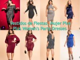 Plus Women's Party Dresses – Vestidos de Fiesta, Para Mujer Plus