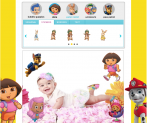 Photobooth de Nick JR. (Dora La Exploradora, Bubble Guppies, Umizoomi, Paw Patrol)