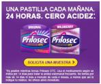 Muestras Gratis de Prilosec
