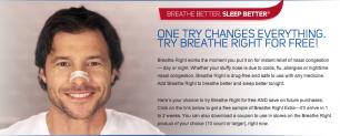 Muestras Gratis de Breathe Right