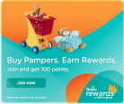 Pampers Rewards y Cupones de Descuento