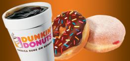 Café Gratis en Dunkin Donuts el 29 de septiembre 2014* Condiciones Aplican