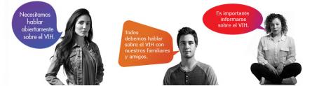 #UnaConversación Que No Es de Compras, Es de VIH y SIDA