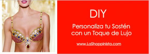 DIY: Personaliza tu Sostén con un Toque de Lujo