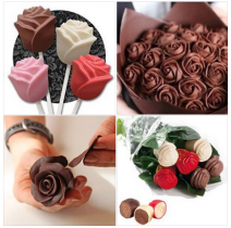 Recetas: Cómo Hacer Rosas de Chocolate