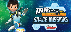 DIY Fiesta de Manualidades y Concurso de Miles From Tomorrowland Space Missions, de Disney Junior
