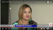 Wapa TV – Cómo Estirar el Peso con el IVU agrandado en Puerto Rico por La Shoppinista