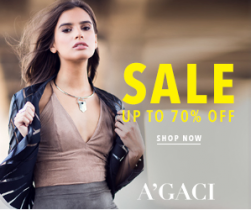 A'GACI – Up to 70% Off Sale