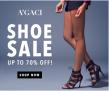 A'GACI shoe sale! Save up to 70%