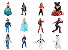 Halloween Costumes Sale $5 to $20