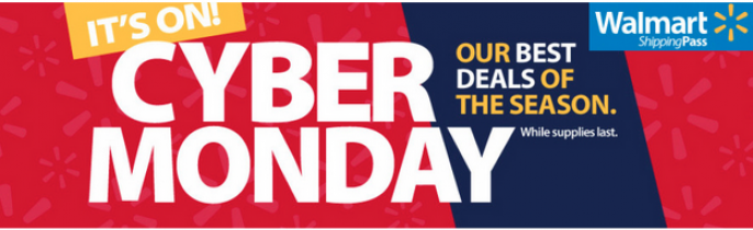 Walmart Cyber Monday Deals & Ad 2016