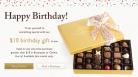 Godiva Free Birthday Gift – Regalo de Cumpleaños Gratis