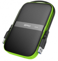 Silicon Power 1TB Rugged Armor A60 Shockproof / Water-Resistant 2.5-Inch USB 3.0 Portable External Hard Drive (Memoria Externa)