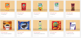 Grocery Cashback & Rebates – Comida