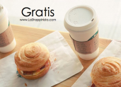 Comida o bebida gratis de Starbucks en tu cumpleaños