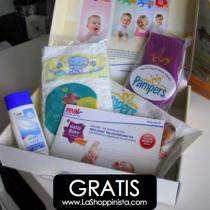 Caja de bienvenida para tu bebé ¡gratis!