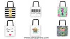 Shoppinista Tote Bags
